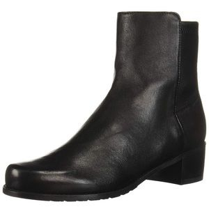 New Stuart Weitzman black ankle booties Sz 9.5